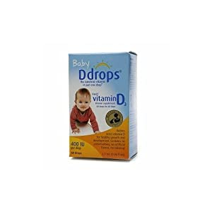 Sp/E Baby 400 Iu 60 Drops .054 Oz by Ddrops (1 Each) ( Multi-Pack)
