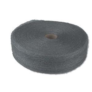 GMT 105045 75 microns Fiber Width 5 lbs Medium Coarse Industrial-Quality Steel Wool Reel Grade 2 (Case of 6)