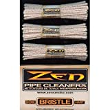 3 Bundles Zen Pipe Cleaners Hard Bristle - 132 Count