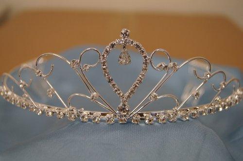 (Big)Elegant Bridal Wedding Tiara Crown With Crystal Party Accessories Dh4059