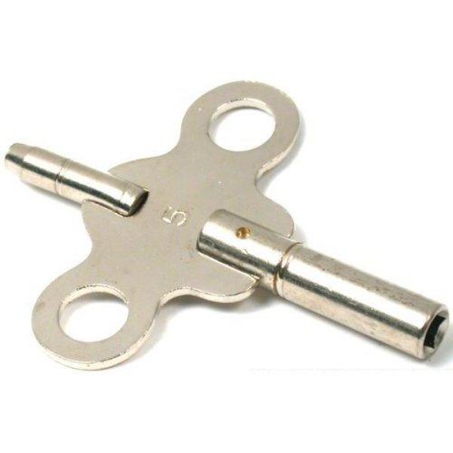 Findingking American Clock Double End Winder Key Size 5 1.95mm