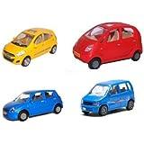 A R Enterprises Combo Of 4 Amazing Cars,Multicolor