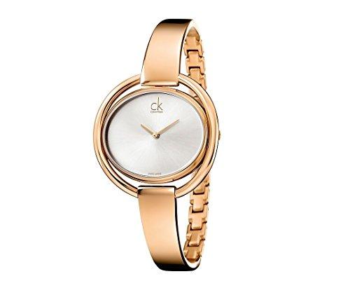 Calvin Klein ck impetuosa de las mujeres reloj de pulsera brazalete ajustable K4F2N616