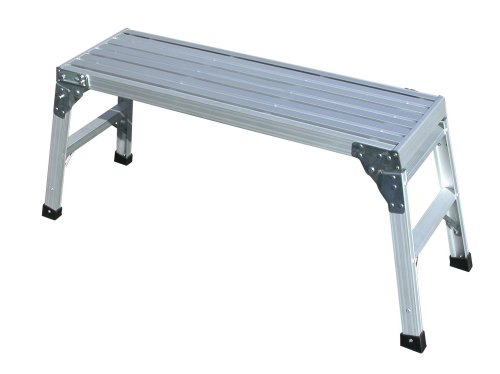 Tricam WP-20-B 20-Inch Aluminum Work Platform, 225-Pound Capacity, Silver Finish
