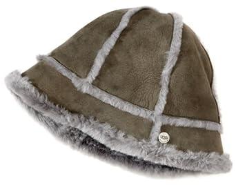 Ugg Australia Ladies Shearling Ultra Bucket Hat (Grey)