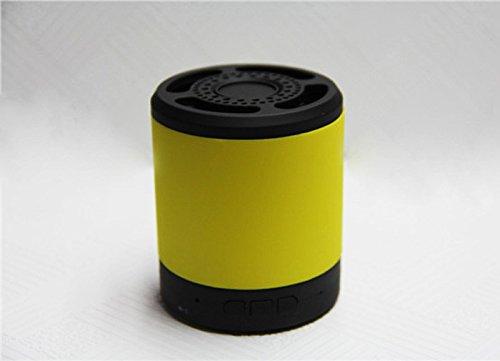 Free Shipping 901 Mini Wireless Bluetooth Speaker Fm Radio Hands-Free Tf Card Wireless Speaker For Iphone 6 5 5S,Ipad,Samsung,Mp3 Player,Cellphone,Pc (Yellow)