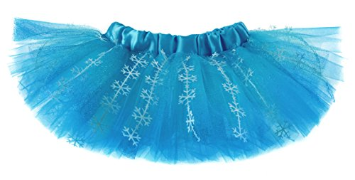 Snow Queen Glitter Snowflake Baby Girls Costume Tutu