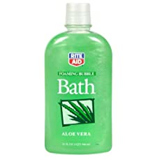 Rite Aid Foaming Bubble Bath, Aloe Vera, 32 oz