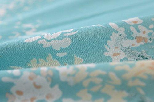 Vaulia Lightweight Duvet Cover Sets, Vintage Floral Pattern Design - Full/Queen Size 2