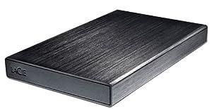 """LaCie 301952 Rikiki USB 3.0 - Disco duro externo de 1 TB (USB 3.0, 2.5""""), negro"""