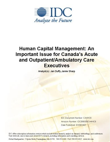 Human Capital Management: An Important Issue