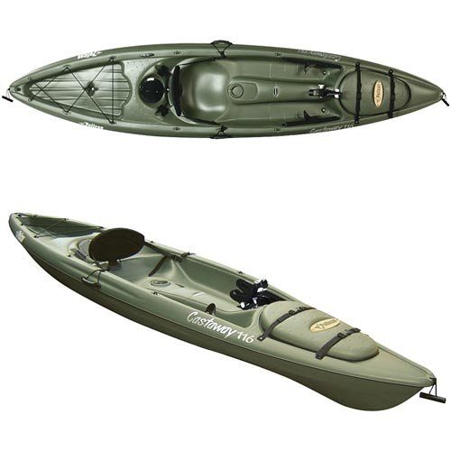 Perception castaway 116 fishing kayak for Fishing kayak academy