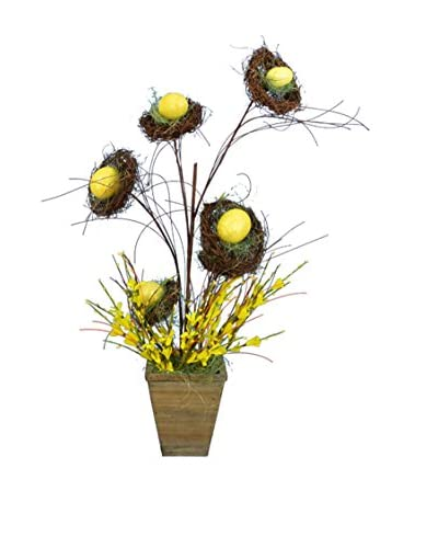 Fantastic Craft Yellow Bird's Nest Arrangement