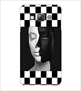 PrintDhaba Faces D-4153 Back Case Cover for SAMSUNG GALAXY A3 (Multi-Coloured)