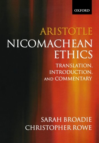 an analysis of character and intelligence in aristotles nicomachean ethics Excellence of character, in others phronesis was a in book 6 of the nicomachean ethics, aristotle of aristotle is a guiding thread in his analysis of.