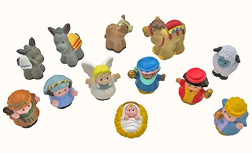 Fisher Price Little People Nativity Scene - Manger Set Replacement Figures (Fisher Price Nativity Baby Jesus compare prices)