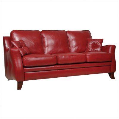 Buy Low Price Luke Leather Brooklyn Italian Leather Sofa and Loveseat Set (BROOKLYN-SET)