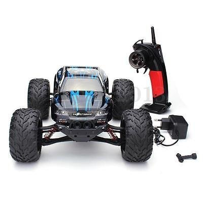 New 9115 1/12 2.4GHz 2WD RC Monster Truck Electric Remote Control Brushed RTR Blue