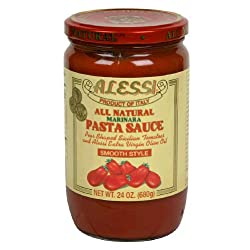 Alessi, Sauce Marinara Smooth, 24 OZ (Pack of 6)