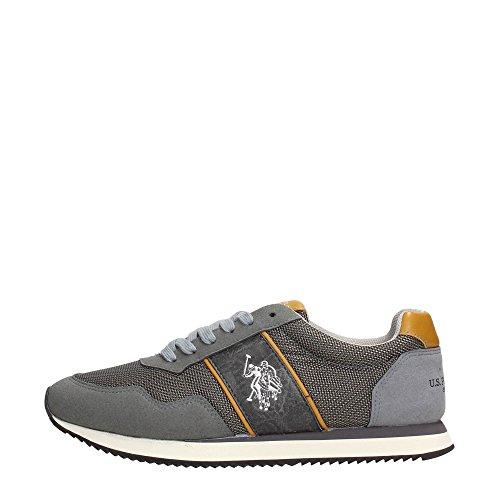 U.s. Polo Assn NATTS ASPEN Sneakers Bassa Uomo Grigio 43