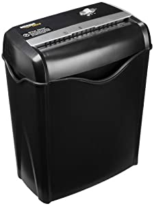 AmazonBasics 5-6 Sheet Cross Cut Shredder with Removable Bin for Paper and Credit Cards