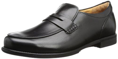Ganter Mens Greg, Weite G Slipper Black Schwarz (schwarz 0100) Size: 10 (44.5 EU)