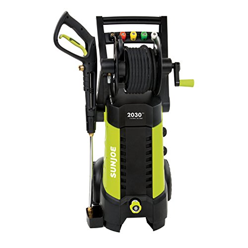 Buy Sun Joe SPX3001 2030 PSI 1.76 GPM 14.5 AMP Electric Pressure Washer with Hose Reel