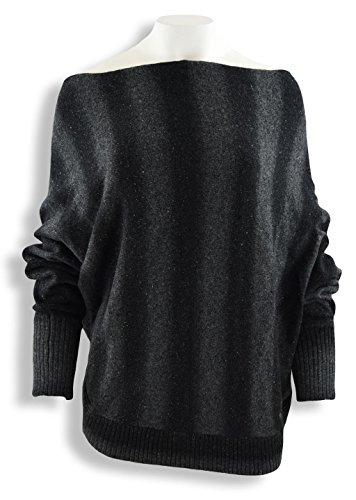 Khujo-Pullover da donna Lotti, Nero nero L