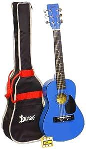 Lauren LAPKMBL 30-Inch Student Guitar Package - Metallic Blue
