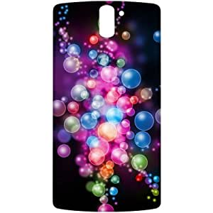Crackndeal 20ILC1PLUS Back cover for One Plus One, (Multi-coloured)