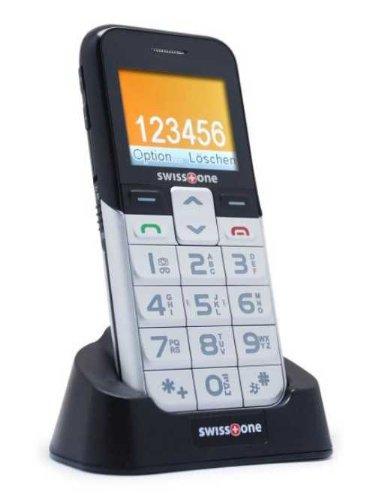 Swisstone BBM 550 GSM-Mobiltelefon (großem Farbdisplay, 0,3 Megapixel Kamera)