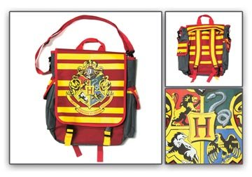 Harry Potter Movies Books Hogwarts Shoulder Messanger Bag / Back Pack Backpack