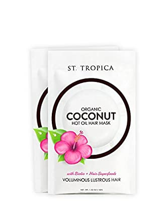 ST. TROPICA Hair Mask 2-Pack