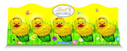 Lindt Mini Chicks Chocolate, 5-Count