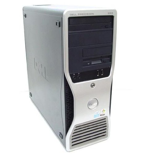DELL Precision Workstation 380 Tower PC , Super FAST INTEL Pentium D 930 DUAL CORE 3Ghz CPU with 4Mb Cache , 1Gb RAM , 80Gb Hard Drive , DVD-RW Drive , ATI FireGL V3100 128Mb Graphics Card , Windows XP Professional