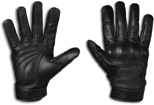 StrongSuit 20300-XL Voyager Leather Motorcycle Gloves, X-Large
