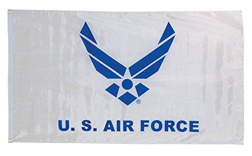 In the Breeze U.S. Air Force Wings Grommet Flag, 3 by 5-Feet
