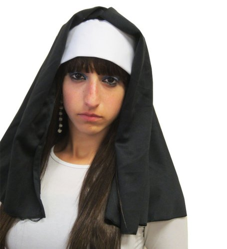 Nun Hat For Costume - Womens Adult Nun Hat