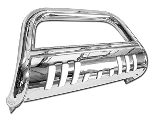 Stainless Steel Front Bumper Bull Bar Guard (Chrome) For 2008-2012 Ford Escape All Models; 2008-2012 Mazda Tribute All Models; 2008-2012 Mercury Mariner All Models (Mercury Mariner Bumper compare prices)