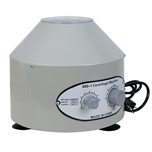 Smartxchoices Lab Medical Practice 800-1 4000 Rpm Desktop Electric Centrifuge Unit (110V) (Laboratory Centrifuge Tubes compare prices)