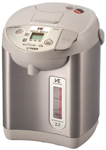 Tiger Ve Electricity Especially Thermo Child'S Electric Pot Urban Beige 2.2L Pvw-A220-Cu