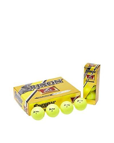 Srixon Bola De Golf x12 Z-Star Amarillo