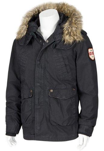 JET LAG Mens winter Jacket RS-10 black M