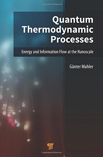 Quantum thermodynamic processes : energy and information flow at the nanoscale