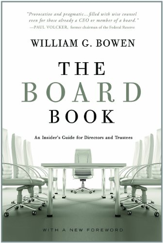 The Board Book: An Insider's Guide for Directors and Trustees (Corporate Boards compare prices)