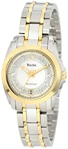 Bulova Women's 98P129 Precisionist Longwood Ion plated Watch