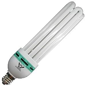 com 125 watt sunblaster cfl 6400k compact fluorescent grow light. Black Bedroom Furniture Sets. Home Design Ideas