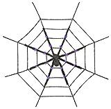 スパイダーウェブwithパープルスパイダーコスチューム用小物直径130cm95880