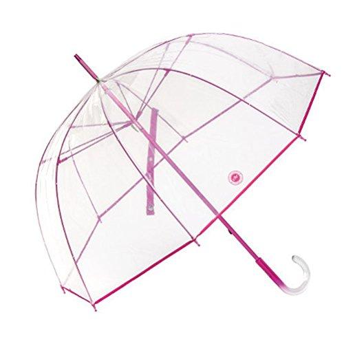 paraguas-cacharel-transparente-cupula-fucsia