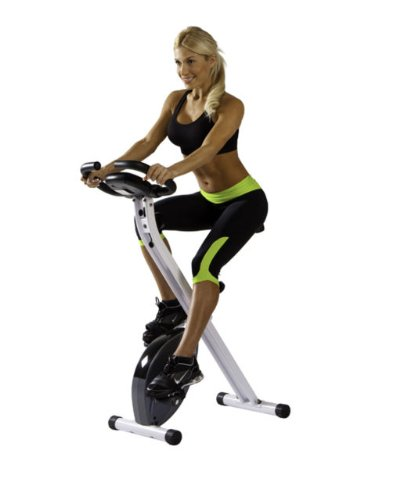 NEW Body Fitness Gym Workout Equipment Foldable X-Bike Cycling Exercise